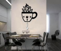 Ceas sticker Coffee Cup
