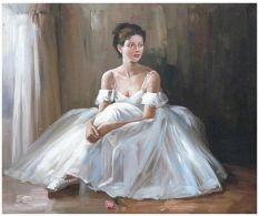 Tablou Resting Ballerina