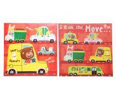Set 2 tablouri Kids cars
