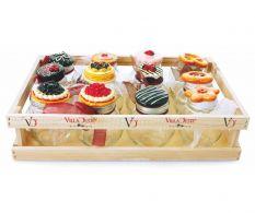 Set 12 borcane pentru dulceata cu cutie Le Conserve
