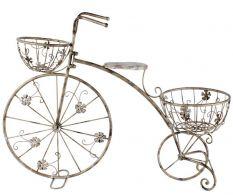 Bicicleta stand de flori Silver 3