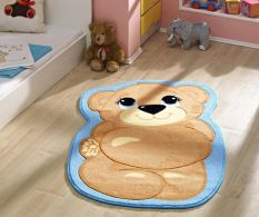 Covor Teddy Bear Turcoaz 127x80cm