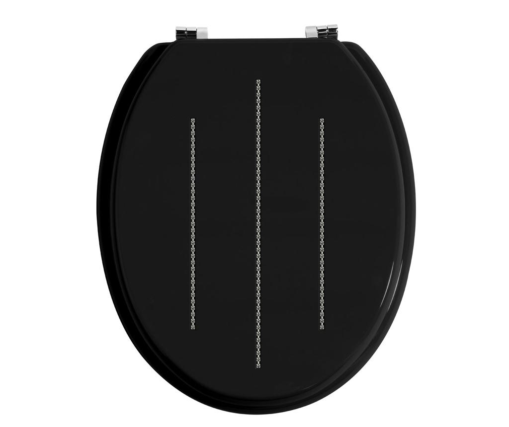 Capac pentru toaleta Black - Premier, Negru imagine