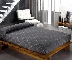 Set de pat Osaka Royal Grey 270x260cm