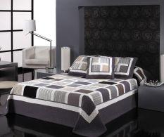 Set de pat Jeno Grey 230x270cm
