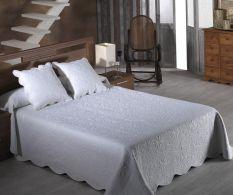 Set de pat Emma Blanco 250x270cm