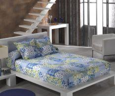 Set de pat Aina Azur 230x270cm