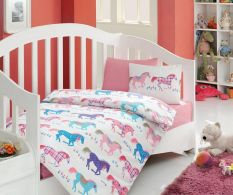 Dječja posteljina Horses