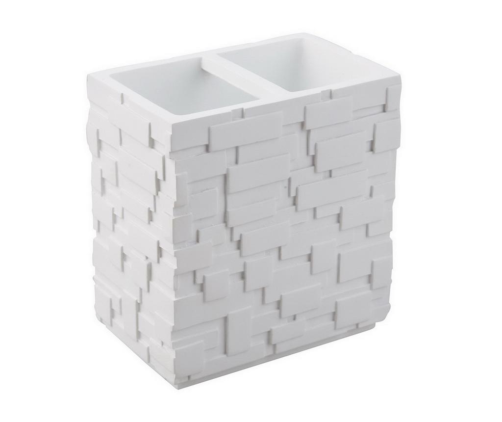 Suport pentru periute de dinti Wall White - Tomasucci, Alb