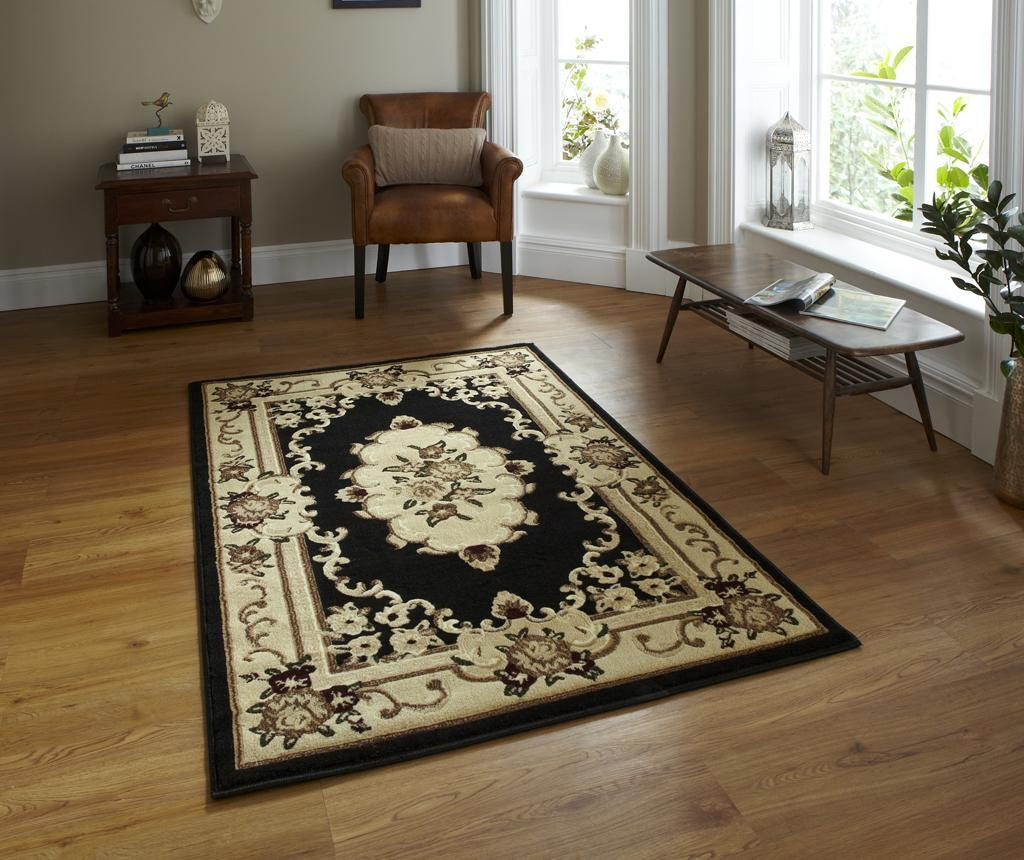 Covor Marrakesh Black 180x270 cm - Think Rugs, Negru imagine