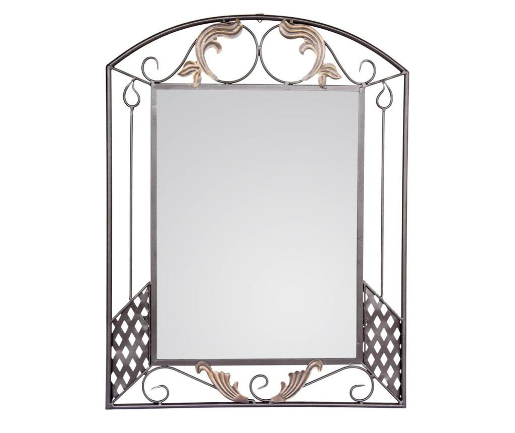 Oglinda Motifs - Bettina, Gri & Argintiu imagine