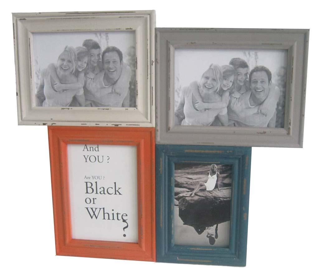 Rama 4 fotografii Multicolor imagine