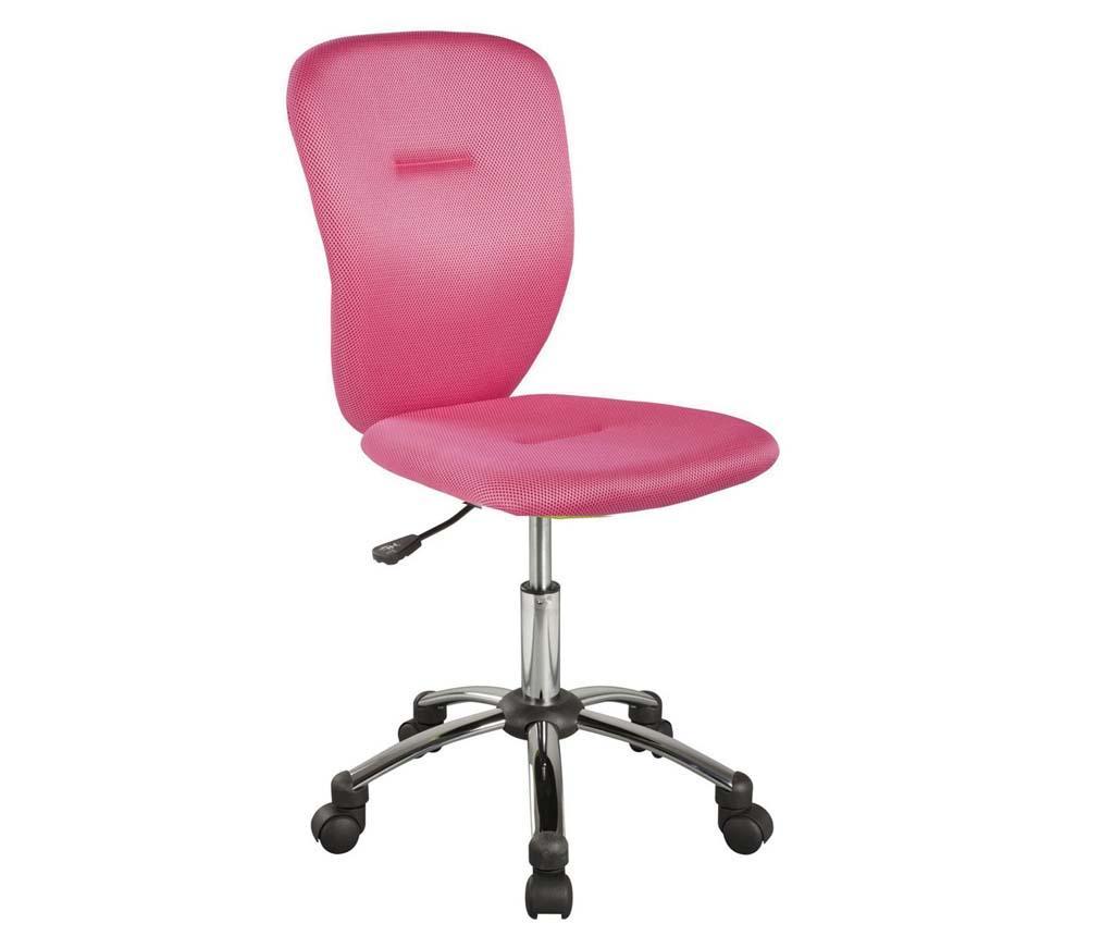 Scaun de birou pentru copii Smooth Pink - 5476f3d3567098 - Scaun de birou pentru copii Smooth Pink