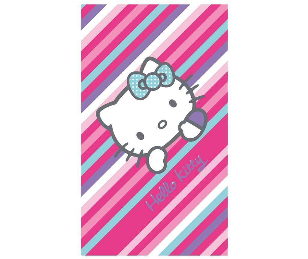 Prosop de plaja Hello Kitty Paris Hanger 75x150 cm