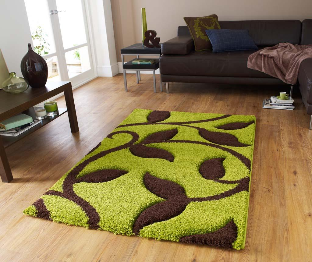 Covor Fashion Green and Brown 80x150 cm vivre.ro