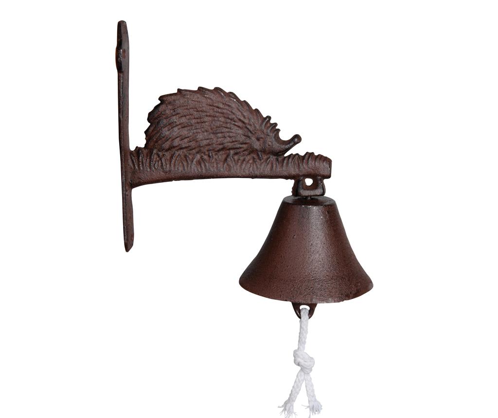 Clopotel de intrare Hedgehog - Esschert Design, Maro imagine