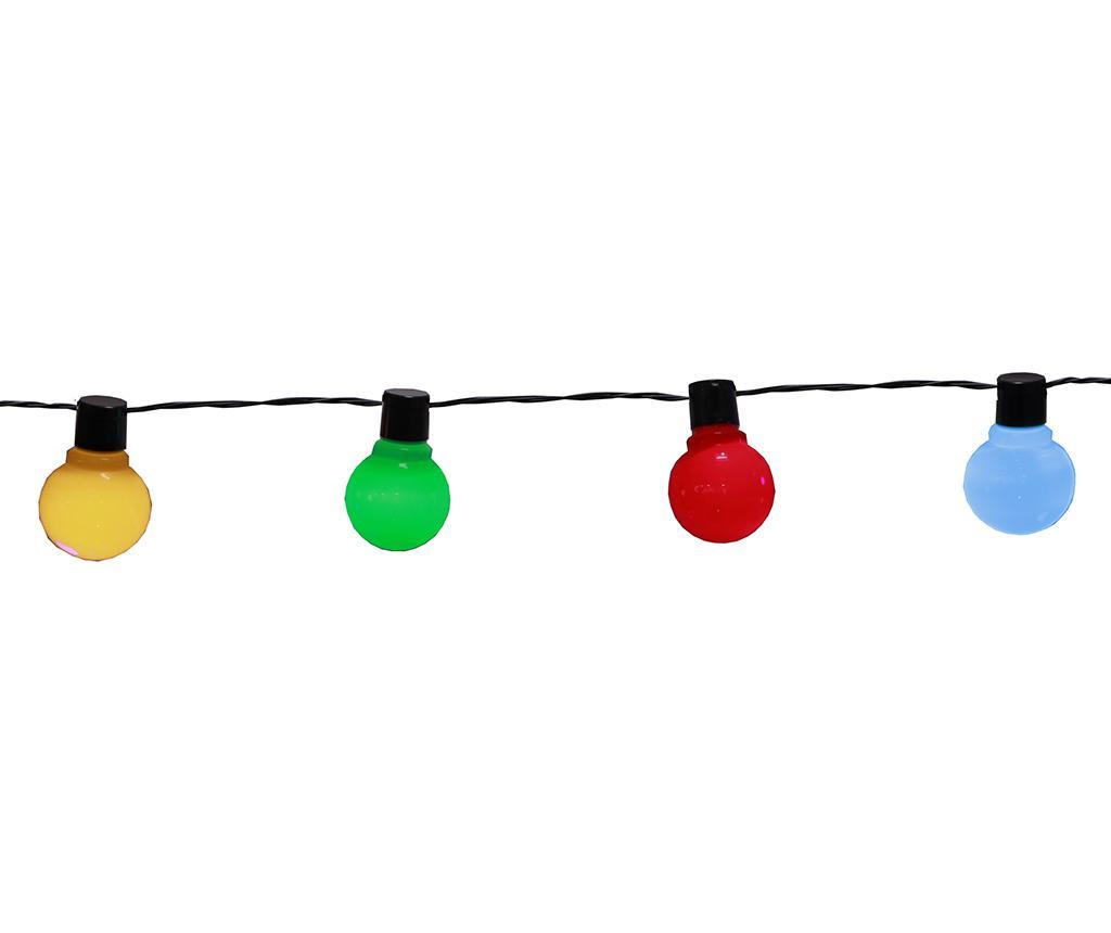 Ghirlanda luminoasa pentru exterior Colourful Bulbs 450 cm imagine