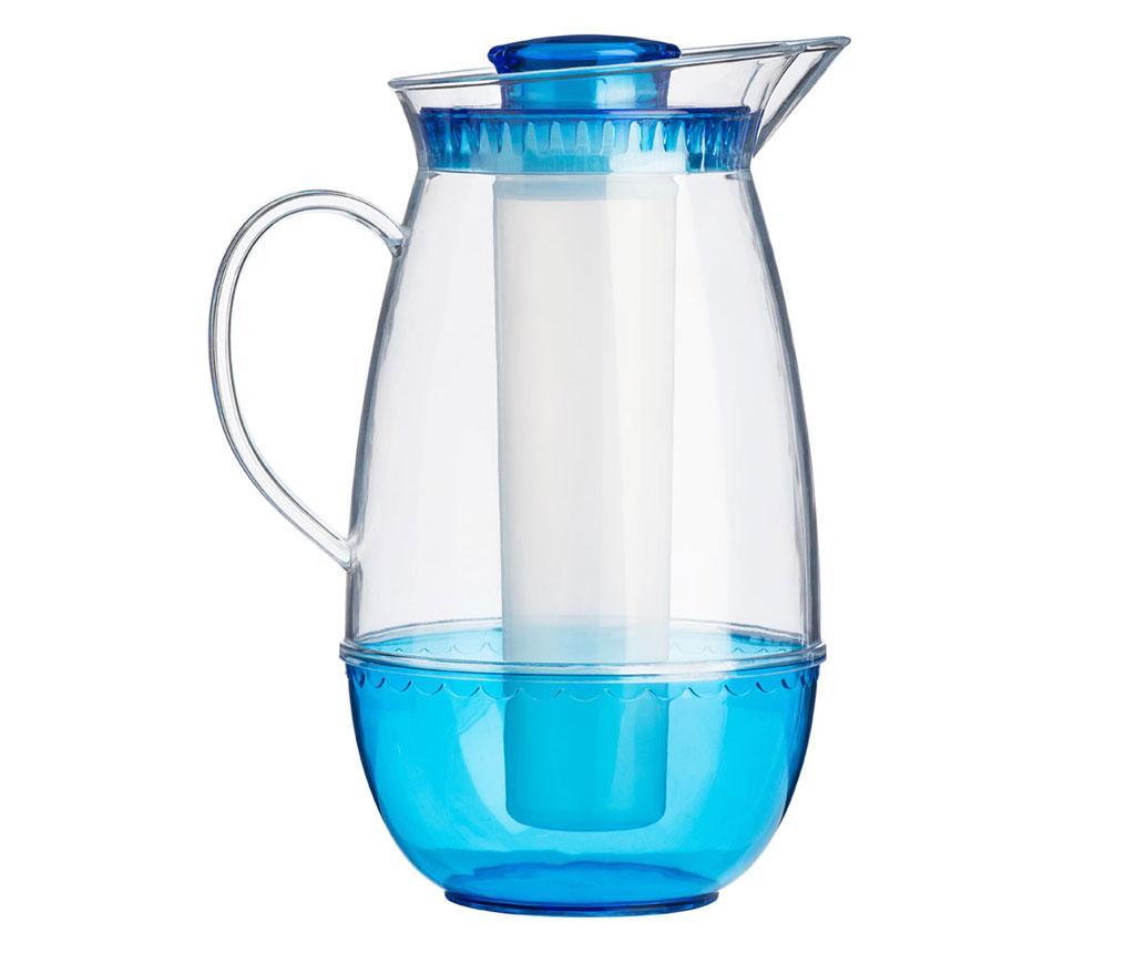 Carafa cu element de racire Clear Blue 2.5 L - Premier, Albastru poza