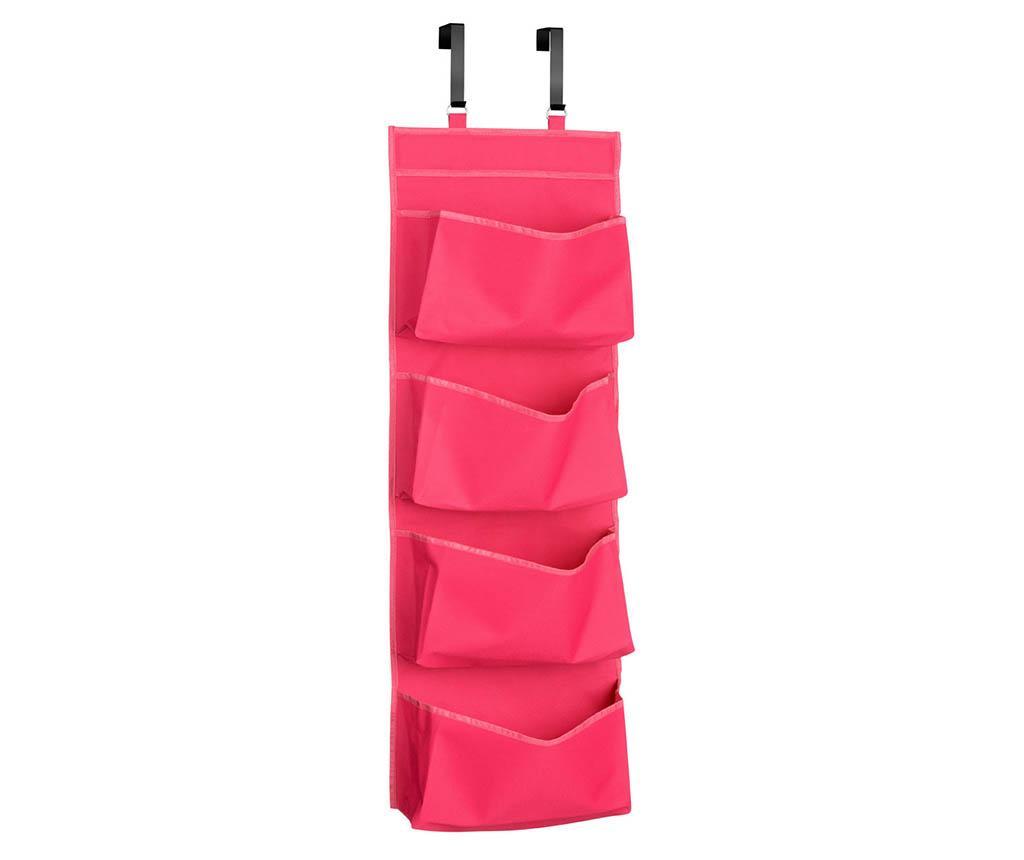 Organizator pentru usa Happy Pink - Premier, Roz