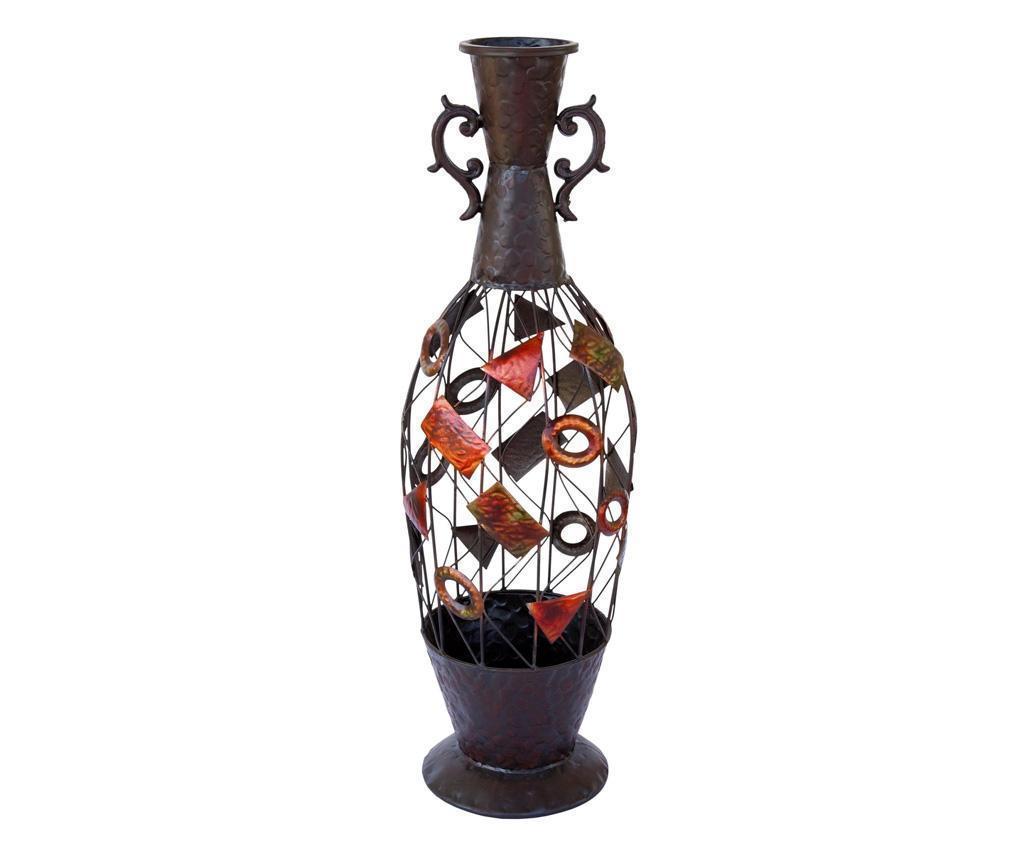 Vaza Geometric Dried Flowers imagine