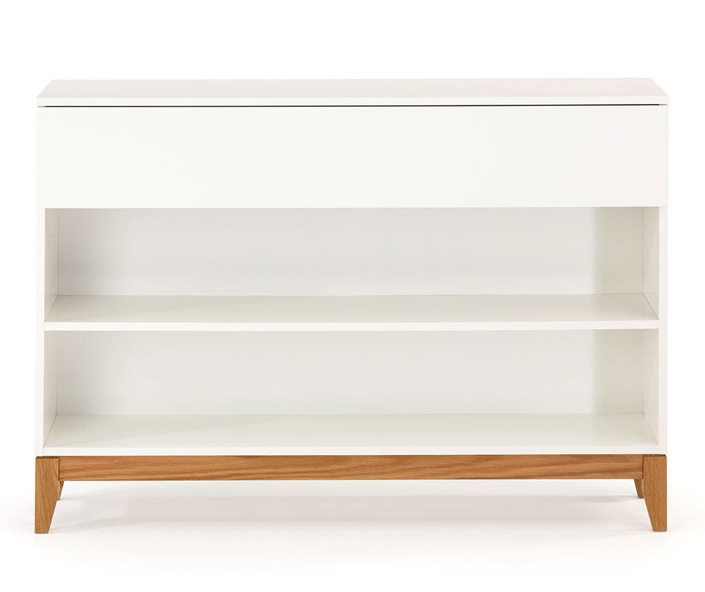 Consola Blanco Shelf - Woodman, Alb imagine