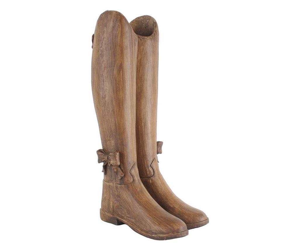 Suport pentru umbrele Boots Bow - inart, Maro imagine
