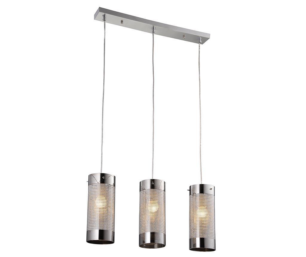 Lustra Burton Third - Light Prestige, Gri & Argintiu