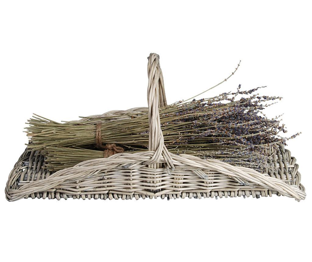 Cos pentru flori Willow - Esschert Design, Crem poza
