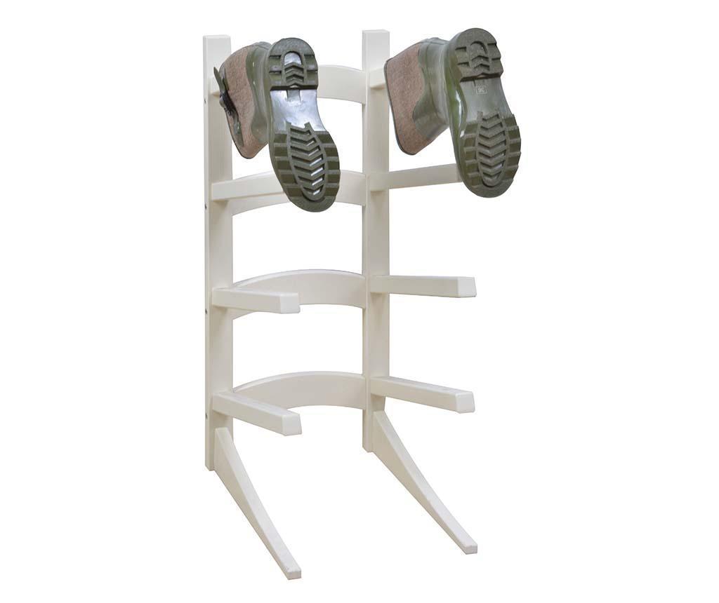 Suport pentru cizme Valet - Esschert Design, Alb vivre.ro