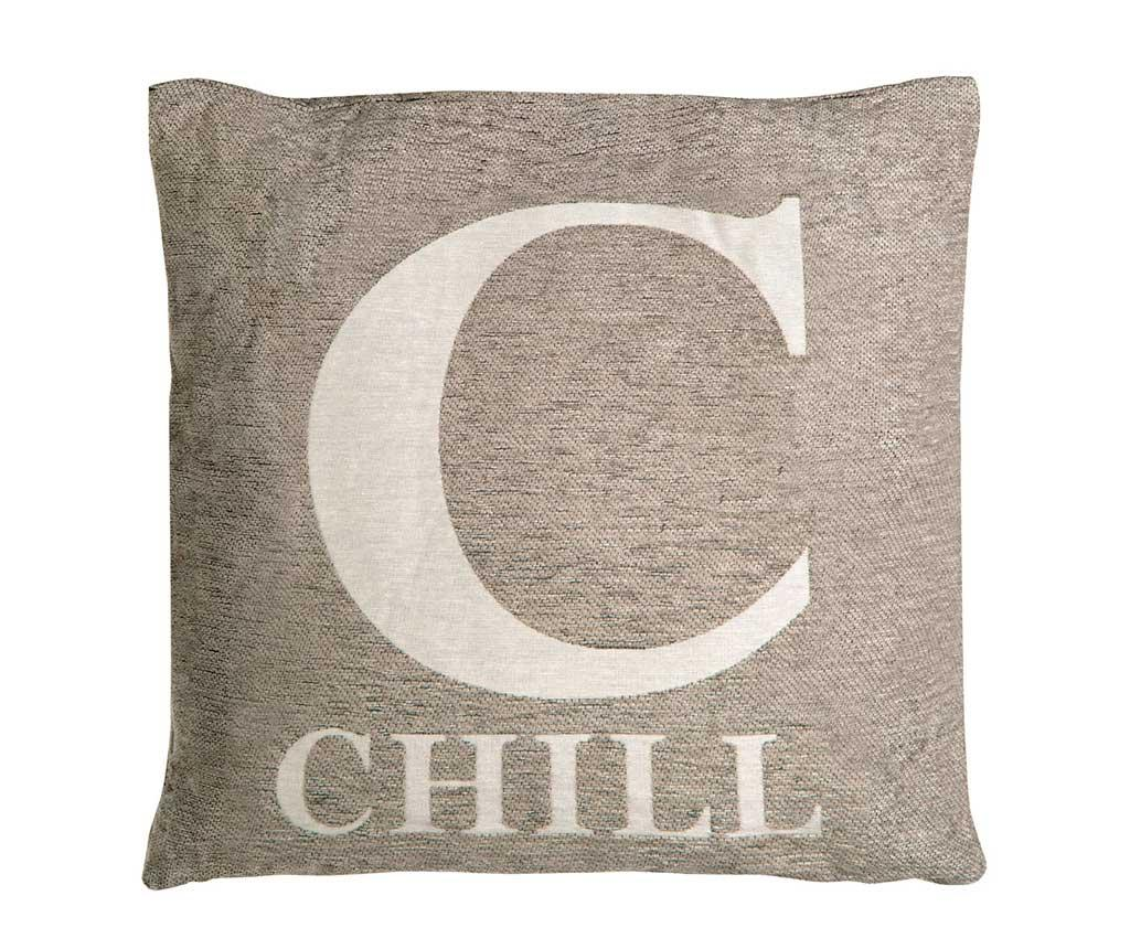 Perna decorativa Chill Grey 45x45 cm - Premier, Gri & Argintiu