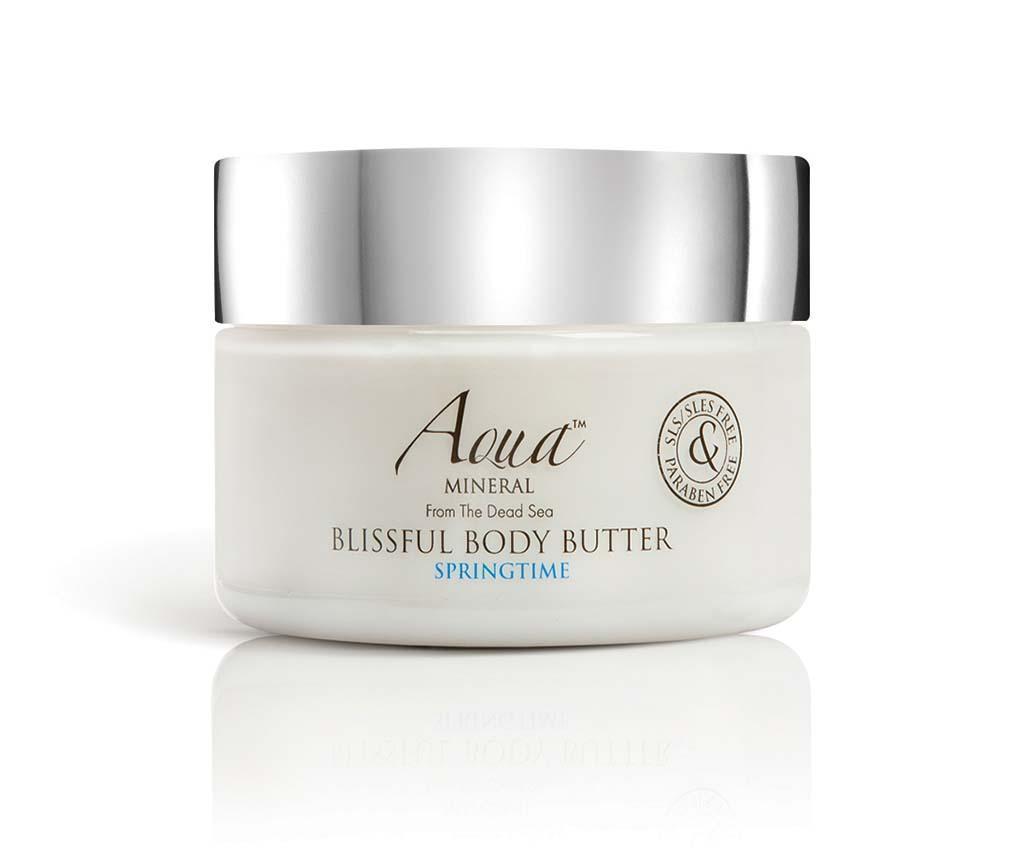 Crema hidratanta pentru corp Blissful Springtime 350 ml - Aquamineral imagine
