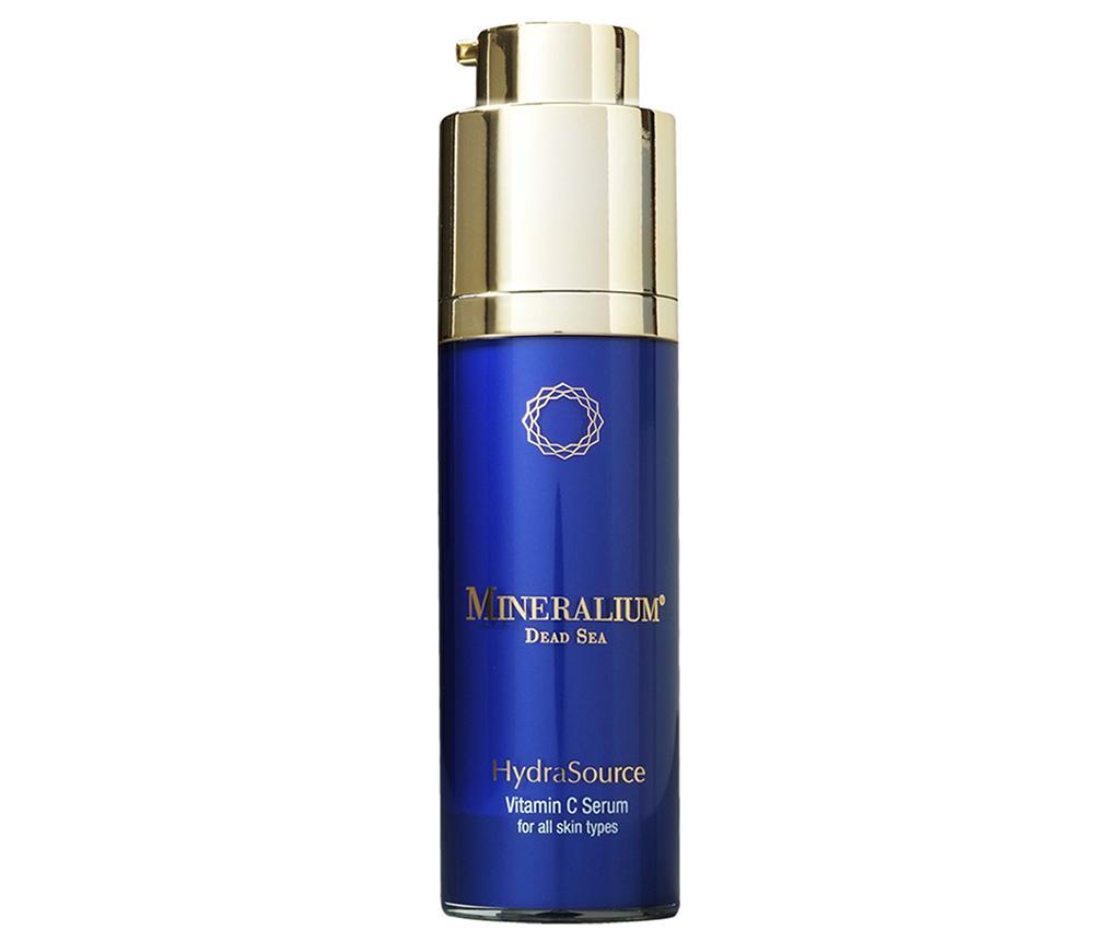 Ser hidratant pentru fata Mineralium Hydra Source Vitamin C All Skin Types 30 ml - MINERALIUM imagine