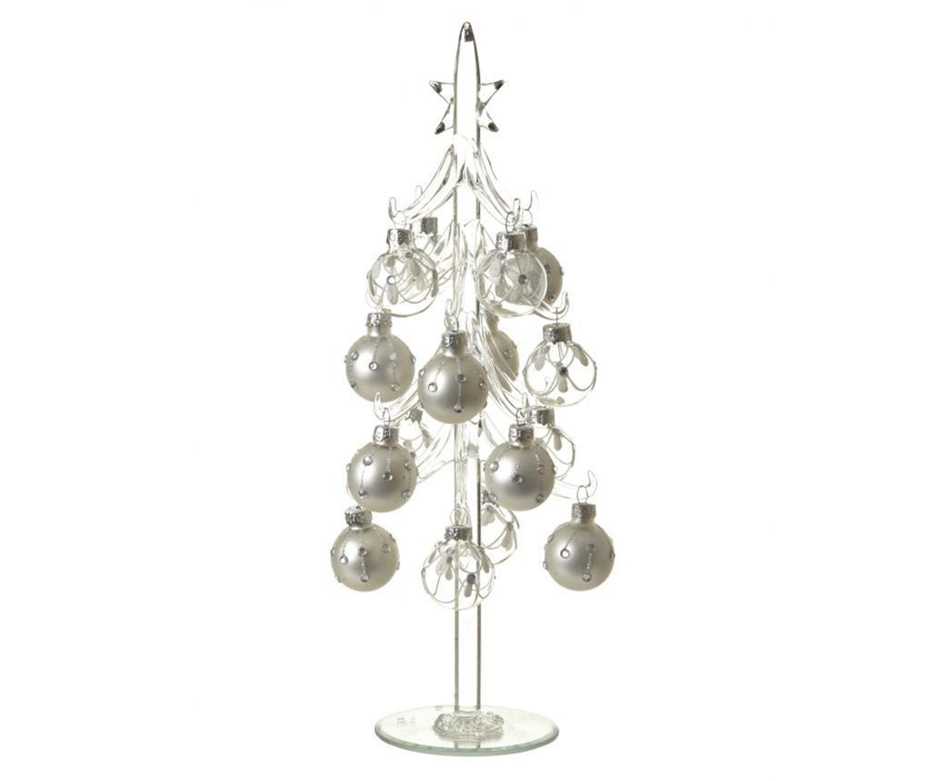 Decoratiune Christmas Tree with Baubles imagine