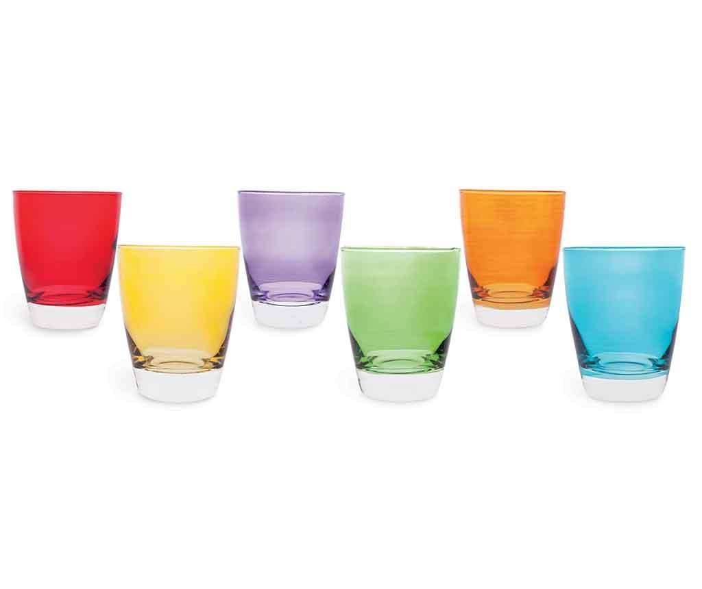 Set 6 pahare Daxton 300 ml - Excelsa, Multicolor poza