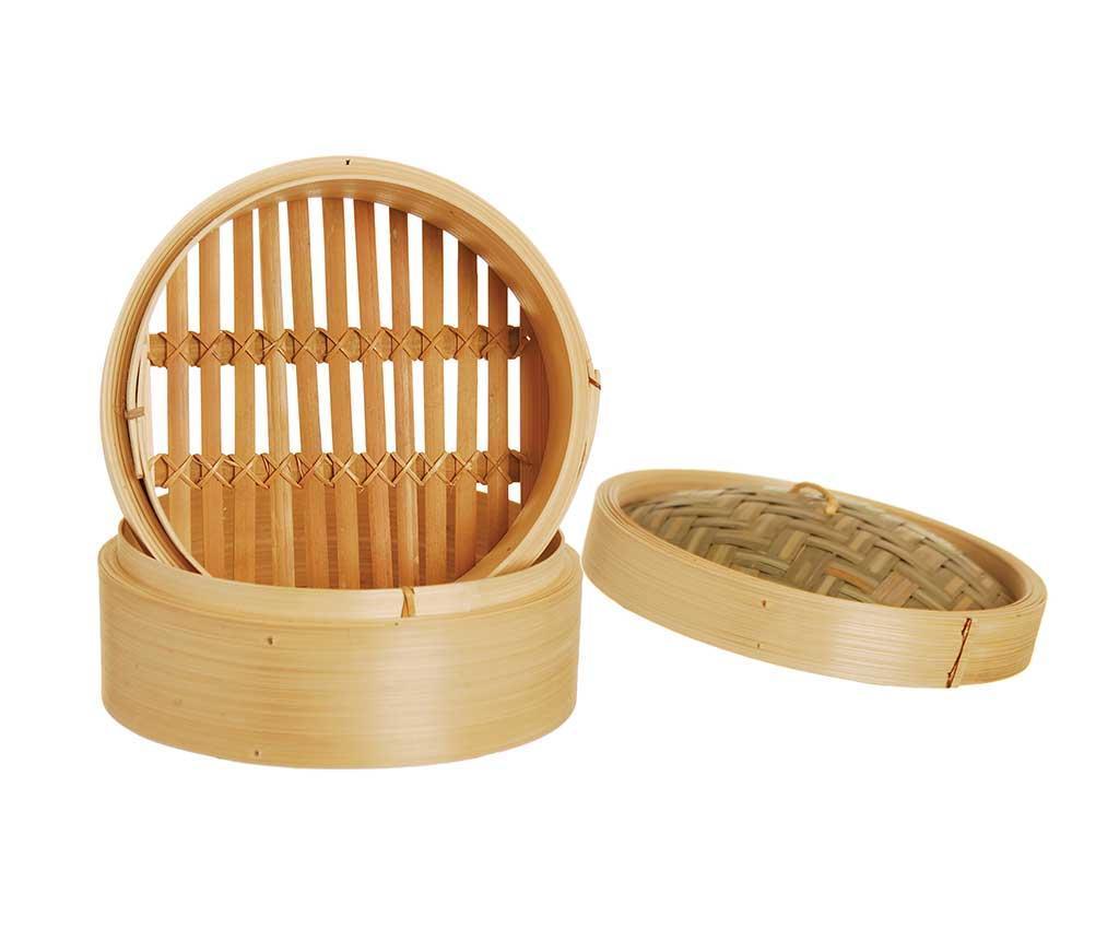 Cos pentru gatit la aburi Bamboo S - Excelsa, Maro