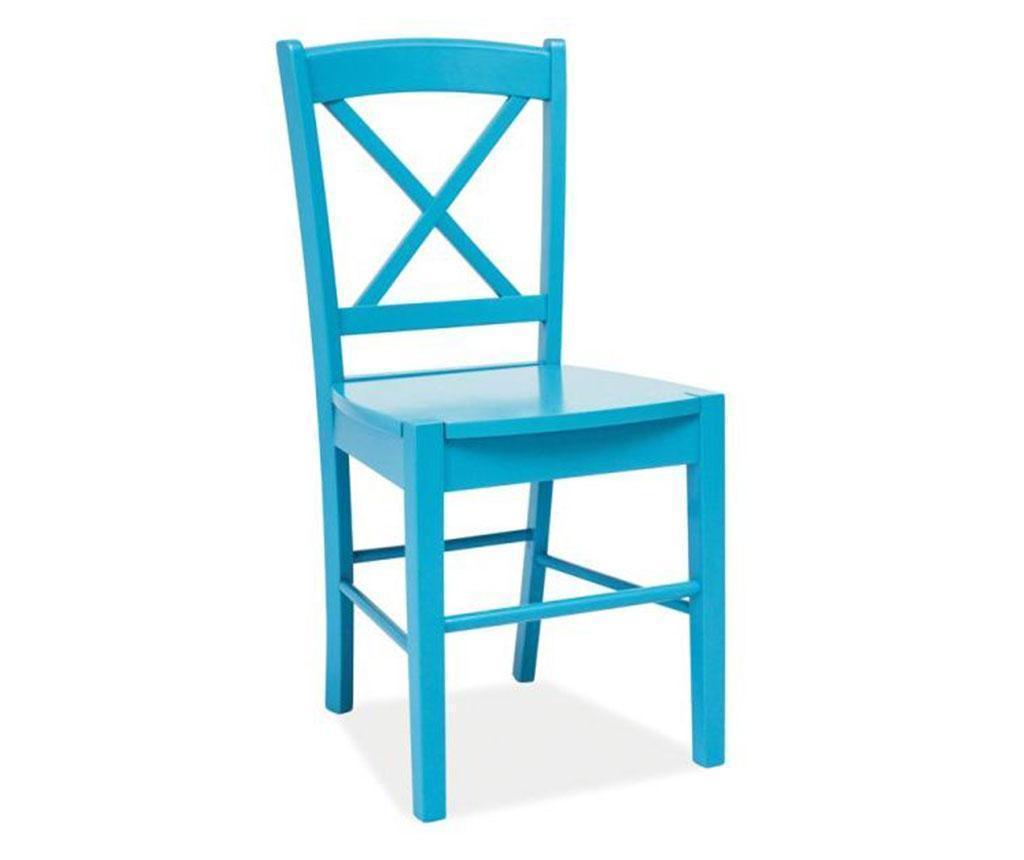 Scaun Crossed Blue vivre.ro