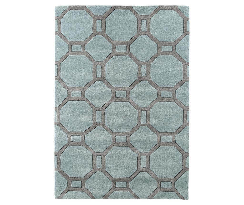 Covor Hex Blue and Grey 150x230 cm - Think Rugs, Albastru imagine