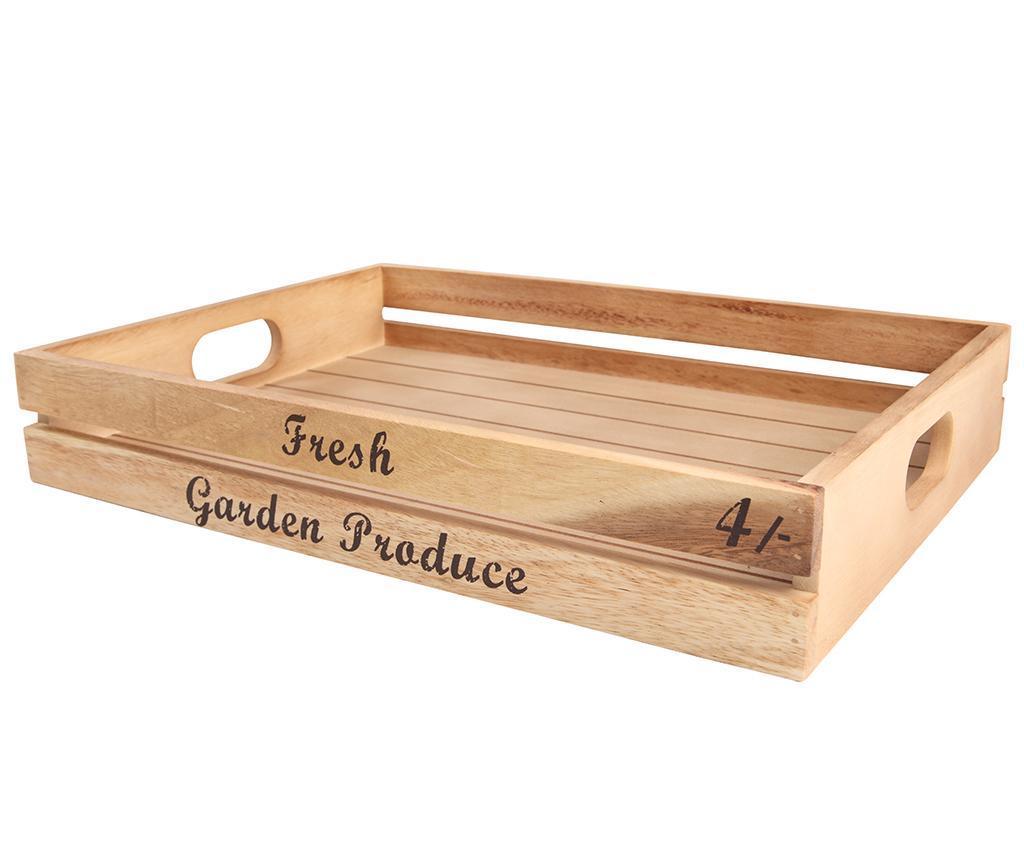 Lada pentru depozitare Fresh Garden - T&G Woodware, Crem poza