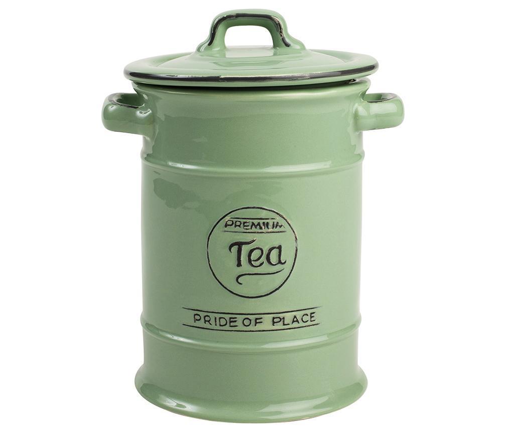 Recipient cu capac pentru ceai Pride Green imagine