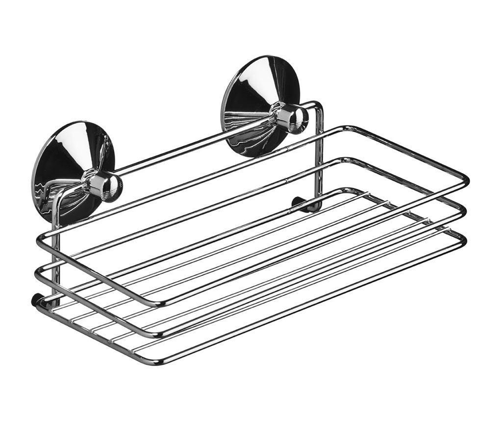 Suport accesorii de baie Caddy Emmet - Premier, Gri & Argintiu imagine