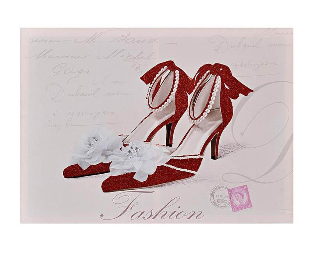Tablou Red Heels 50x70 cm - inart