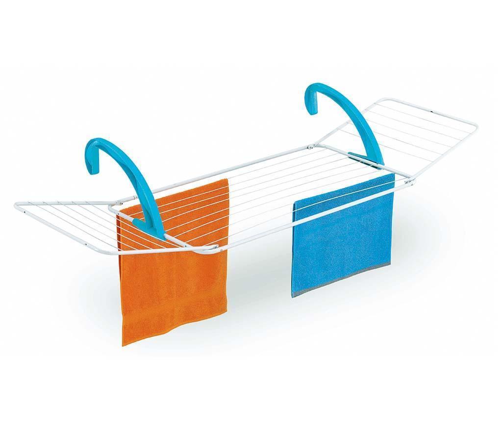 Uscator de rufe pentru balcon Dino Extra - CASABRIKO, Albastru imagine
