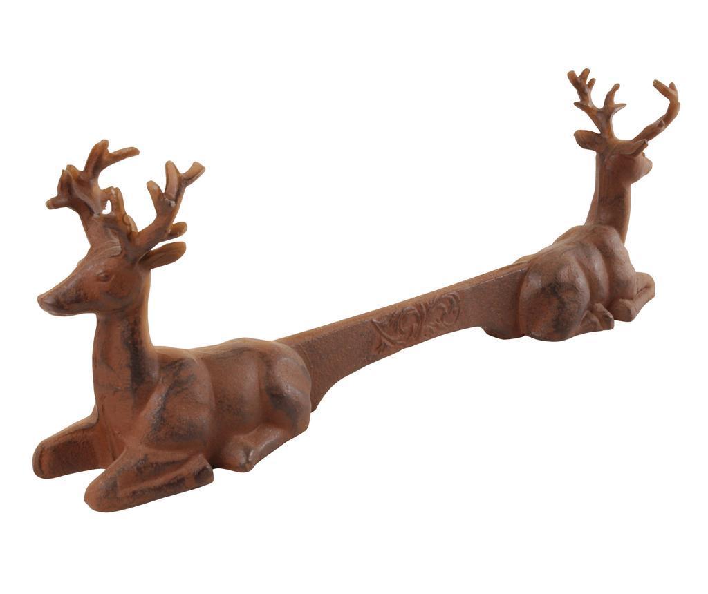 Curatator pentru incaltaminte Deer - Esschert Design, Maro