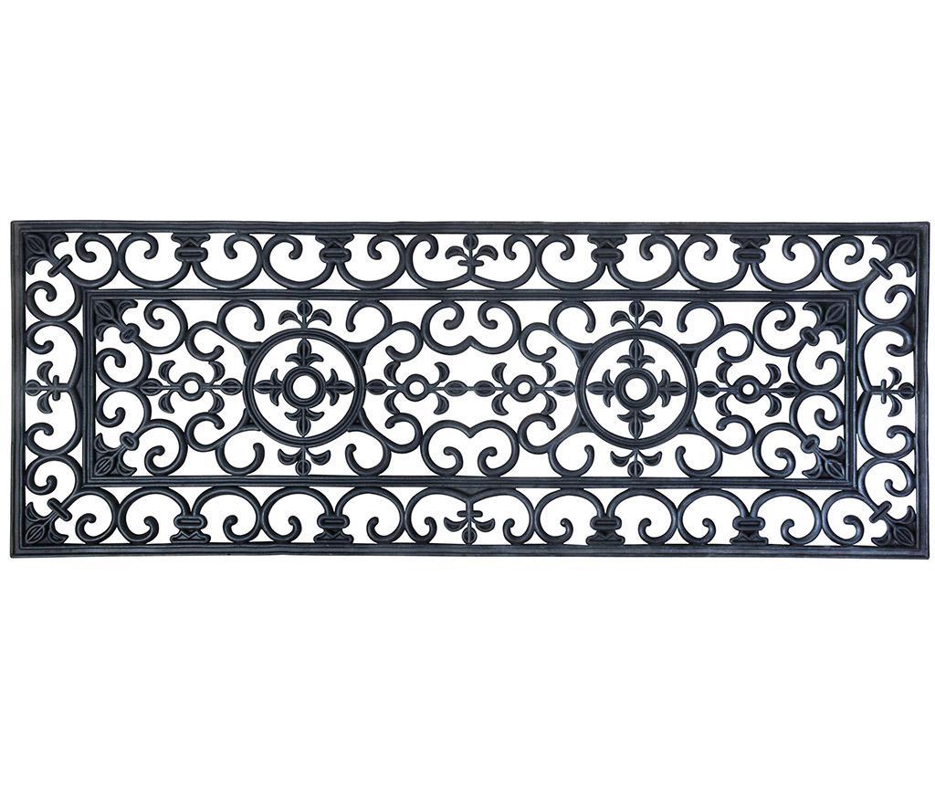 Covoras de intrare Oriental 45x119.5 cm - Esschert Design, Maro
