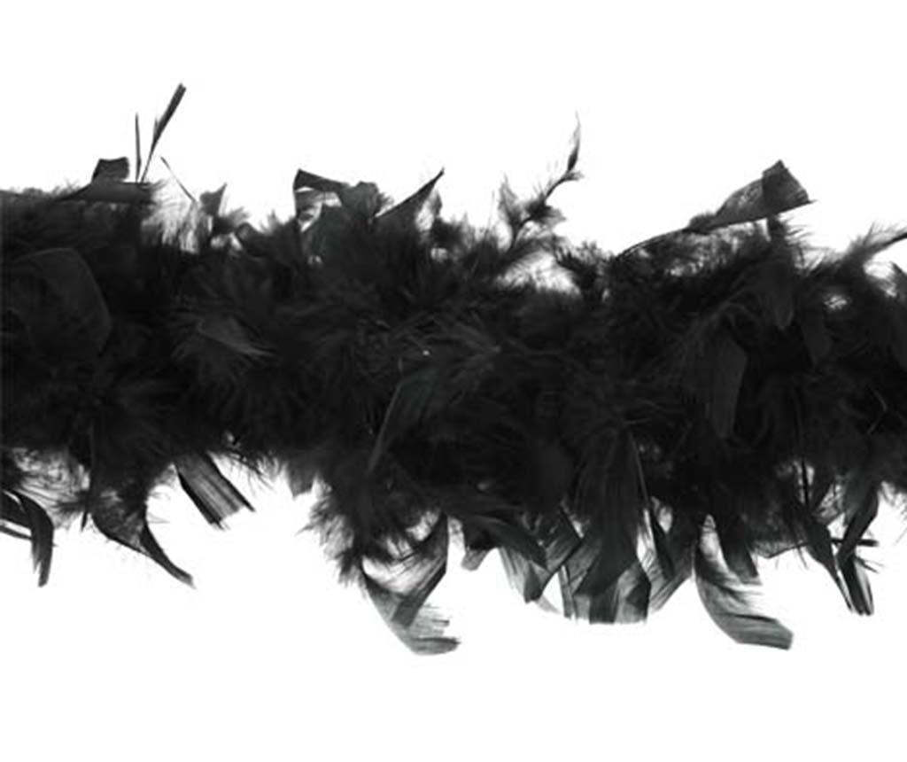 Boa Feathers Black