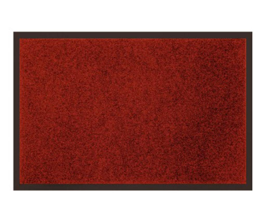 Covoras de intrare Uni Red 80x120 cm imagine