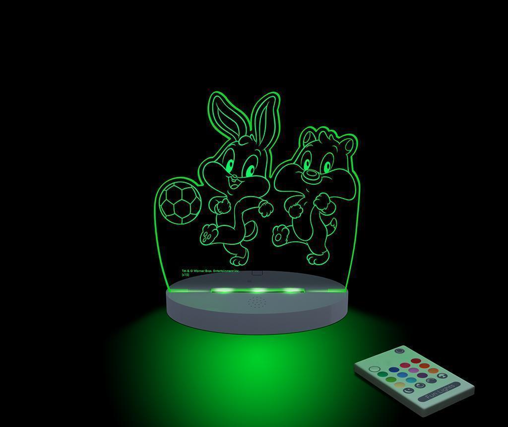 Lampa de veghe Baby Looney Tunes Football - FunLights