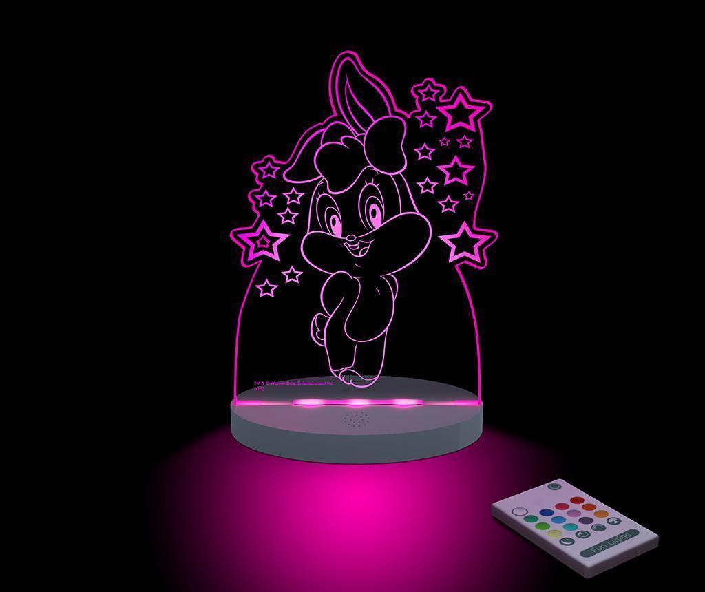 Lampa de veghe Baby Looney Tunes Lola - FunLights, Alb
