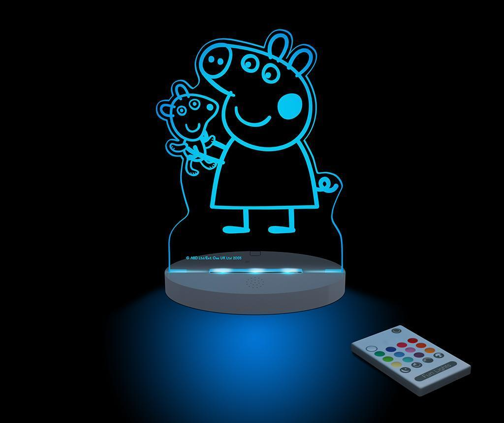 Lampa de veghe Pepa Teddy - Pepa Pig, Multicolor