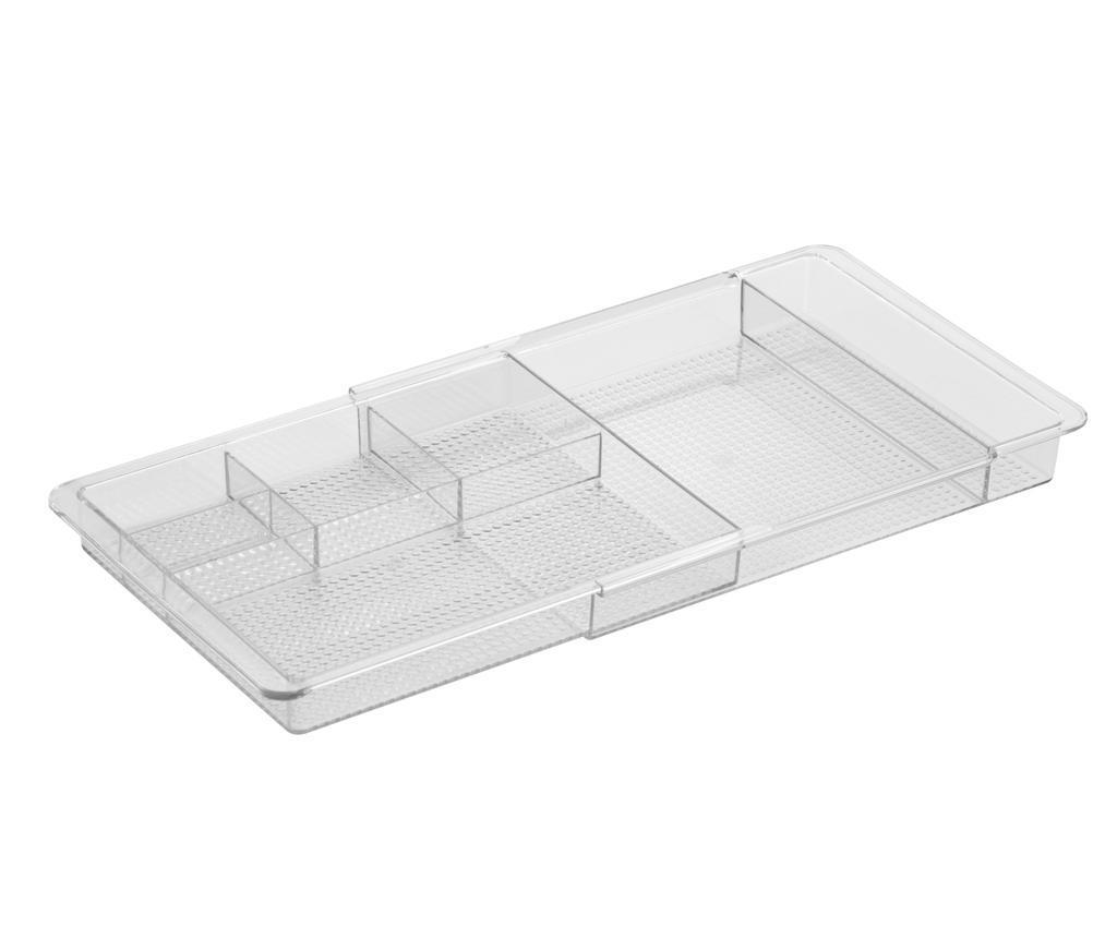 Organizator extensibil pentru sertar Clear